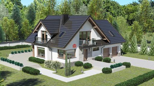 projekt Dom przy Cyprysowej 15 K6