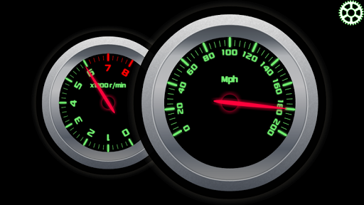RPM and Speed Tachometer  screenshots 1