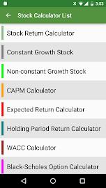 Financial Calculators Screenshot 7