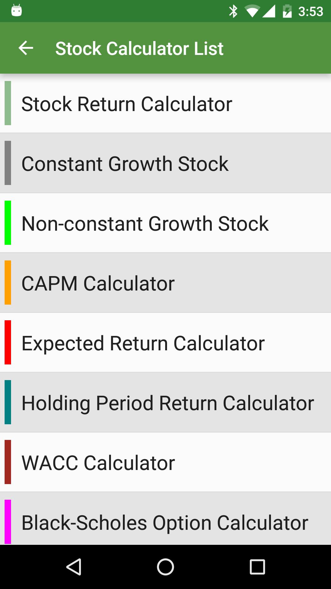Financial Calculators screenshot #7