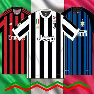 Jersey Link Match 17/18 Serie A Home Kits Edition - náhled