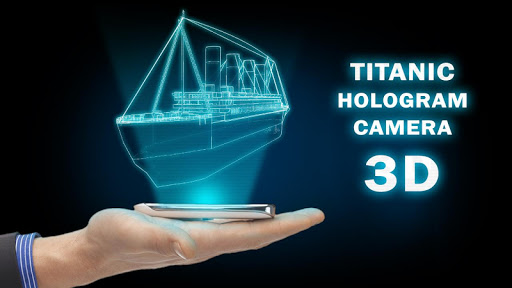 Titanic Hologram Camera 3D