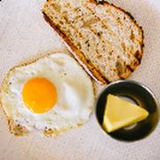 Kids Scrambled or Fried Egg and Sourdough
