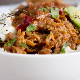 Slow Cooker Apple Bourbon Pulled Pork