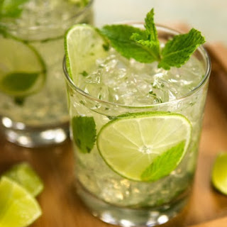 Mojito with Coconut Water.