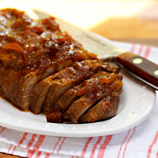 Slow cooker Southwestern beef brisket