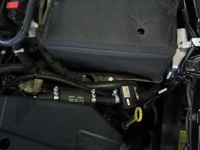 Photo: Gasfilter, Drucksensor, Steuergerät der Gasanlage