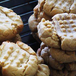 Soft Peanut Butter Cookies.