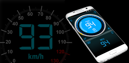 Free GPS Speedometer DigiHUD (heads up display) speed tracker for your phone