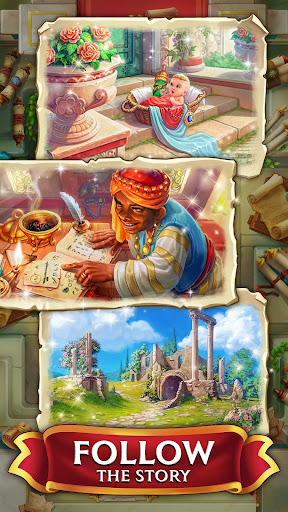 Jewels of Rome: Match gems to restore the city apkpoly screenshots 4