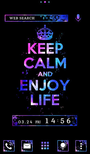Keep Calm and Enjoy Life Theme 1.0.0 Windows u7528 5