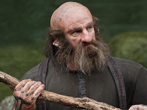 Photo: Graham McTavish is Dwalin. Check out those runes tattoed on his hand.