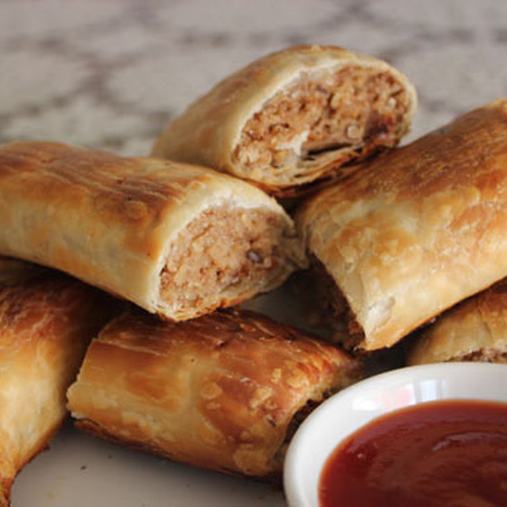 Homemade Vegetarian Sausage Rolls Recipe