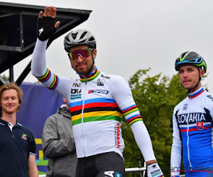🎥 Insolite !  Peter Sagan donne un coup de main sur l'organisation du Tour de France