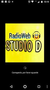 Rádio Web Studio D - náhled
