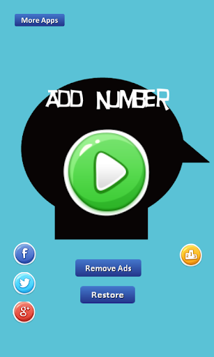 Add Number - till given number