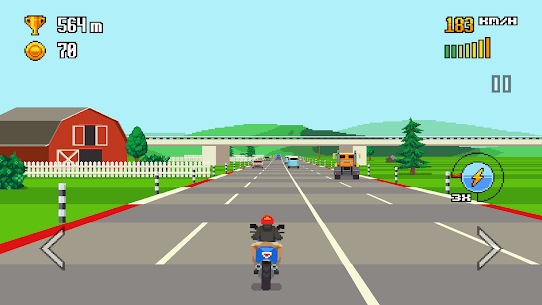 Retro Highway 1.0.27 Android APK Mod 1
