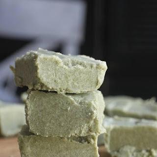 Secret-Ingredient Mint Fudge - vegan and sugar free
