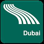 Dubai Map offline Icon
