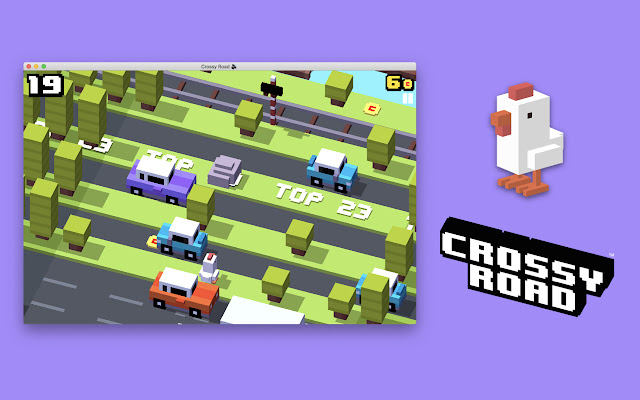 Crossy Road - Why did the Chicken cross road?