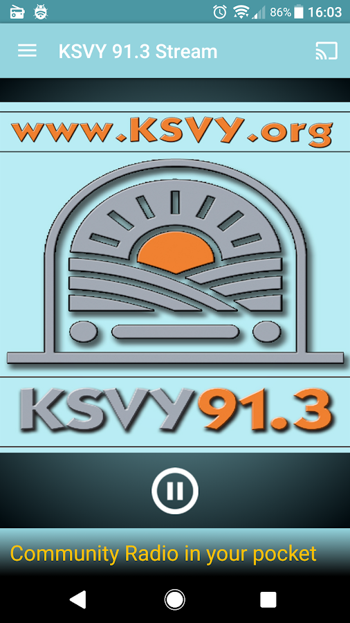 KSVY 91.3 Stream- screenshot