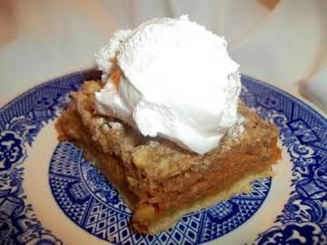 ~ Frost On The Pumpkin Pie Bars ~