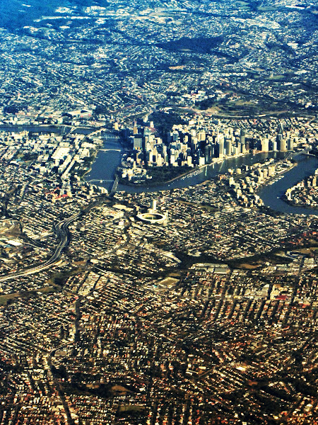 Photo: Brisbane from the air