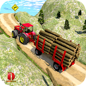 Drive Tractor Offroad Cargo- Farming Games