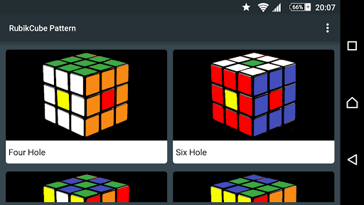 Cool Rubik's Cube Patterns Pro Apps for Android screenshot