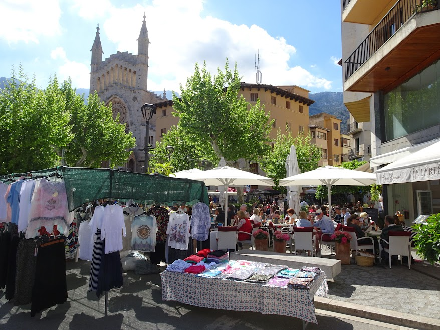 Soller, where it reaches it maximum