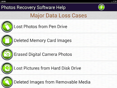 Photos Recovery Software Help screenshot 4