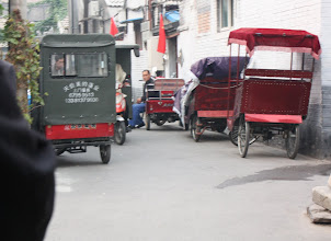 Photo: Day 190 - Pedicabs  Ready and Waiting