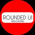 [Substratum] Rounded UI Oreo/Nougat Theme icon