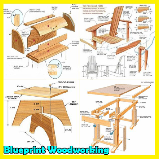 Blueprint woodworking idea apps on google play malvernweather Images