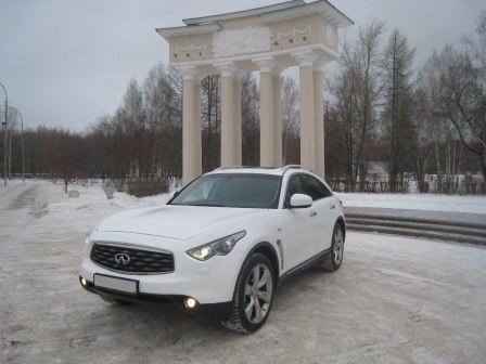 Infiniti FX 37S в Екатеринбурге