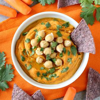 Roasted Sweet Potato Hummus.