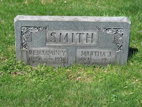 Photo: Smith, Benjamin Y. and Martha J.