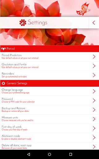 Period Tracker & Diary 6.0.1 screenshots 21