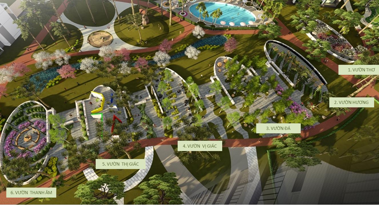 Công viên 6 giác quan của An Bình Plaza