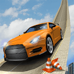 Flying Car Game 3D: Impossible Drive Challenge Icon