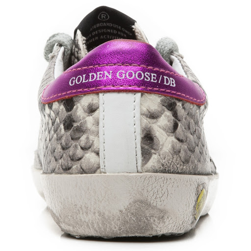 Thumbnail images of Golden Goose Deluxe Brand Superstar Python Trainer