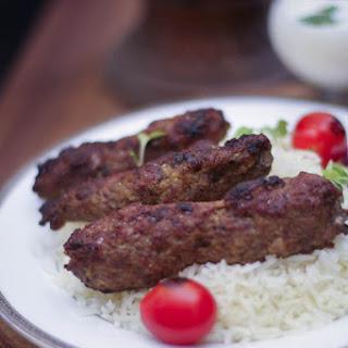 Lamb Chelo Kebab.