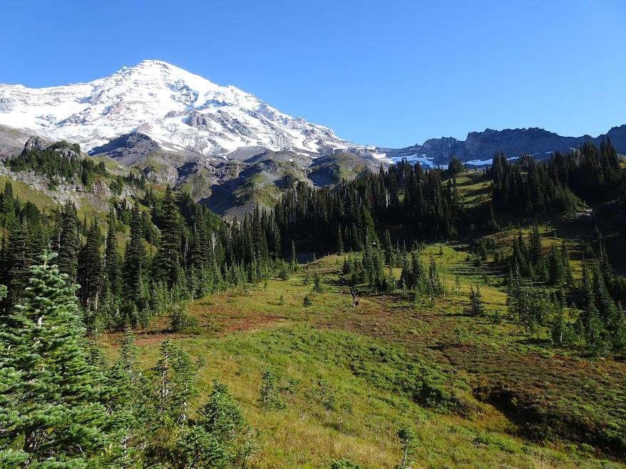 Mount Rainier seen from Van Trump Park