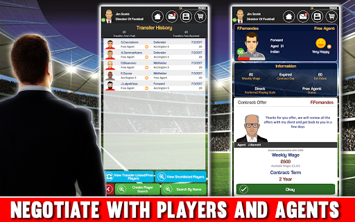 Club Soccer Director - Soccer Club Manager Sim 2.0.8e Screenshots 2