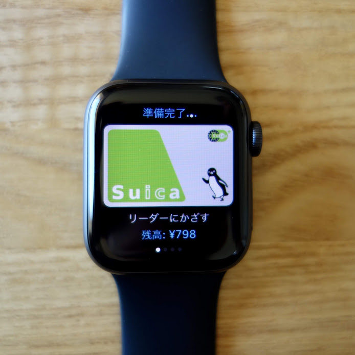 Apple Watch Series 4 Suica