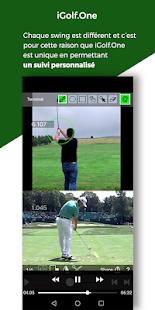 Download iGolf.One - Analyse de votre Swing par un Pro For PC Windows and Mac apk screenshot 3