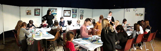 ateliers stages aquarelle salon Jeanne PAPA