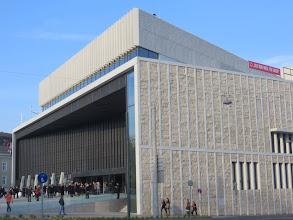 """Photo: Neues Musiktheater Linz (22.3.2014 - vor der Premiere """"Die Walküre"""". Zu unseren Berichten von Dr. Klaus Billand und Ernst Kopica.Foto: Dr. Klaus Billand"""