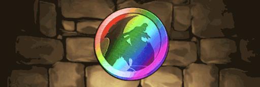 イベントメダル虹