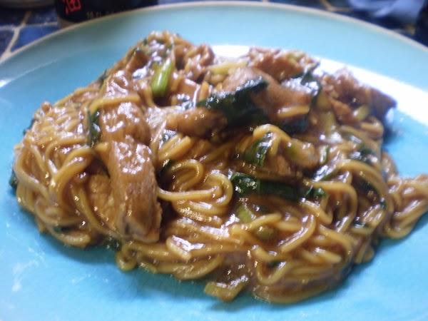 Pork Shanghai Noodles Recipe